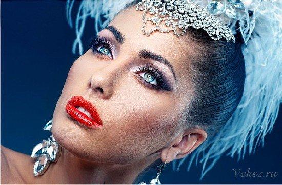 Как осуществить макияж на Новый год 2017?