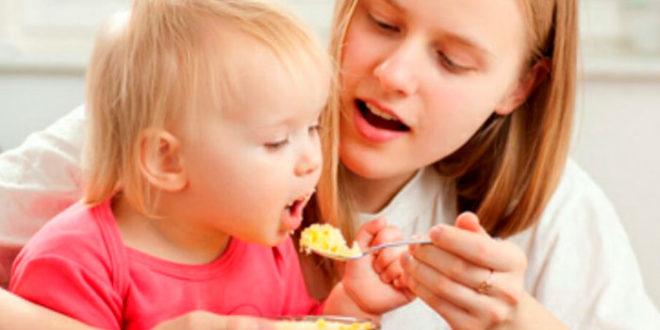 Питание ребёнка по окончании года