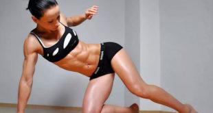 Сушка мышц для женщин
