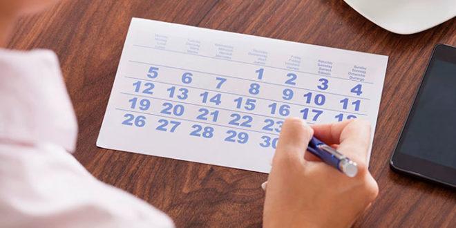 Календарь контрацепции