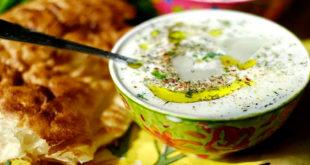 Суп из баклажанов с пармезаном и миндалем