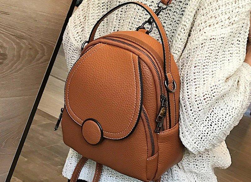 рюкзаки женские кожаные