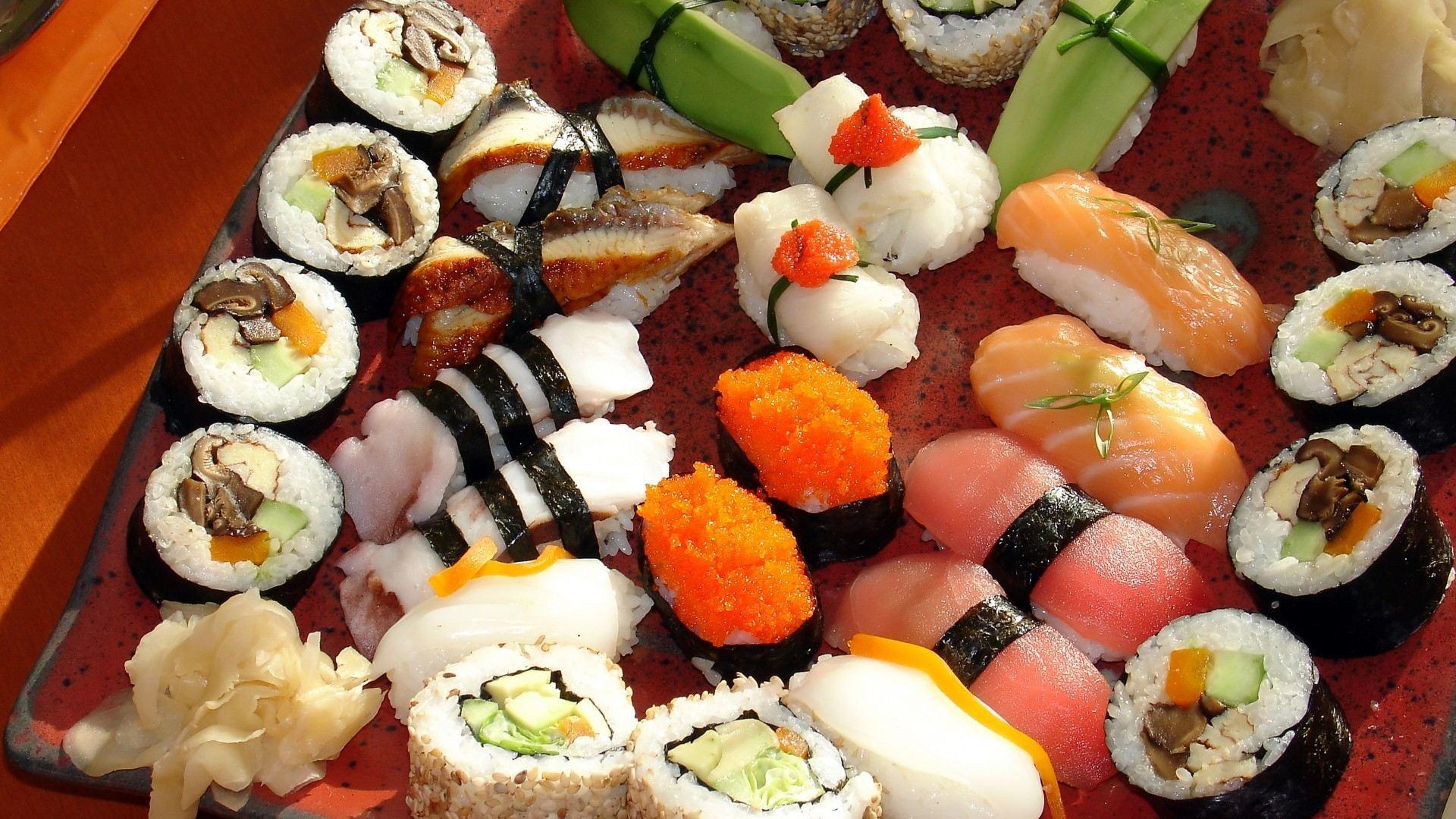 О суши: история, разновидности, приготовление